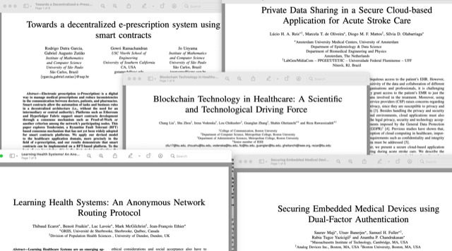 The 5 papers presented at the Special Track